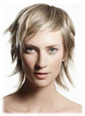 Coupe de cheveux fins visage long