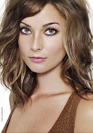 Super coupe cheveux ondules femme aux cheveux fins | DJ07